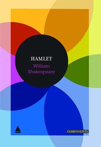 Capa do livro Hamlet, William Shakespeare, edição Clube do Livro Nova Fronteira