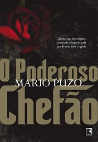 Capa do livro O Poderoso Chefão, de Mario Puzo, pela Editora Record